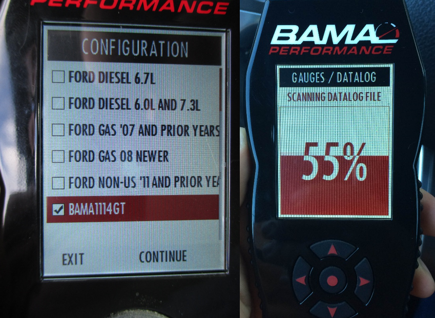 How to Datalog with the Bama/SCT X4 SF4 – BAMA Performance