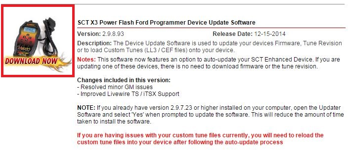 How do I update the firmware on my Bama/SCT X3 SF3 – BAMA